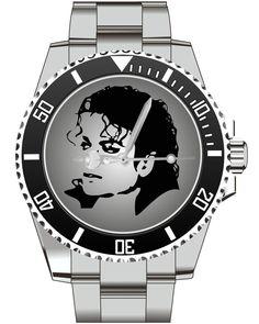Michael Jackson - KIESENBERG ® Uhr 2516 von UHR63 auf Etsy