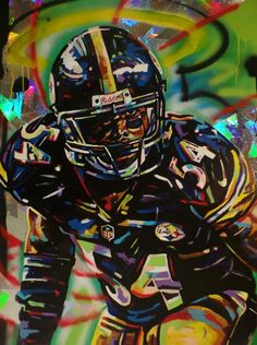 Chris Carter, Steelers by Shawn Voelker.