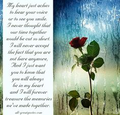 in loving memory quotes | BEST - In Loving Memory - Cards, In Memoriam Verses - Poems