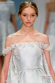 Ralph   Russo Spring 2015 Couture. Vestiti Anni  50Abiti Alla ModaModa  FlorealePrimavera Estate 2015 eb11aabf986