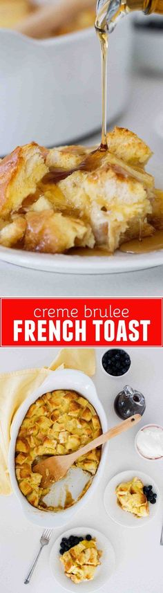 This Creme Brûlée French Toast is a breakfast favorite - and is super easy because you do all of the work the night before!