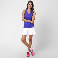 Camiseta Regata Adidas Response - Roxo c8392fc05d8bd