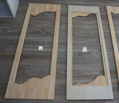 フレンチな 壁面収納 作り方 DIY | DIYでシャビーシックなインテリア&ガーデニング Furniture, Home, Interior, Shelves, Wall Shelves, Wall