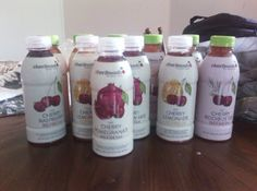 I personally loved the Cherry Blueberry flavored juice. It tastes amazing! I normally don't really gear towards blueberry or cherry, but this set of juices are pretty good. My son loved the Cherry Pomegranate juice, and my daughter loved the Cherry Raspberry .