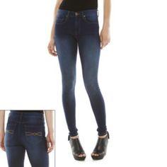 Mudd High-Rise Skinny Jeans - Juniors