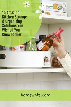 Cluttered kitchen? Running low on storage space? Then, here are 15+ small kitchen organization ideas that help you clear out the clutter and bring everything back in order again! From under the sink organization to countertop organizations ideas, you'll find the best way to utilize storage space, label and group your items together for a neat and organized kitchen! Visit the post now! #homewhis #kitchenorganization #undersinkorganization #declutter #cabinetorganization #fridgeorganization Kitchen Countertop Organization, Under Sink Organization, Sink Organizer, Spice Organization, Kitchen Storage, Magnetic Spice Jars, Fridge Organisers, Kitchen Trash Cans, Spice Bottles