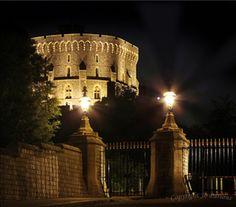 Windsor Castle at night