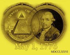 Misterios y Conspiraciones: 1 de mayo: hoy se celebra el cumpleaños de los Ilu...