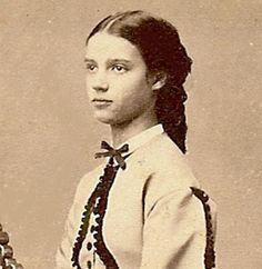 A very young, Princess Dagmar, future Empress of Russia.