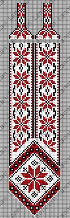 UA patter - loom pattern gerdan .. inspired by: http://biser.info/node/469882