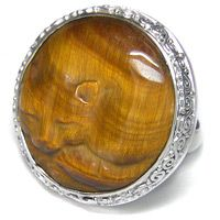 I sort of want this. It's a big ring, 25mm (~an inch). I've never worn anything that big. Would it look degroovy?