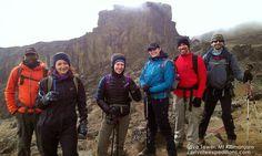 Reaching #Lava tower on #Mtkilimanjaro