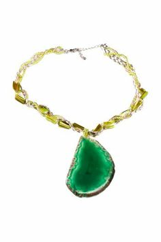 Green Rock Necklace