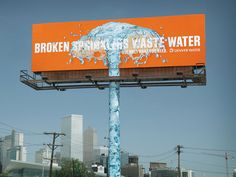 Denver Water campaign 2008. Use only what you need.  Agency: Sukle Advertising & Design.  Water conservation. #water #denver #waste