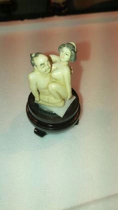 Antique erotic japanese okimono Call Danilo 0039 393 9402049