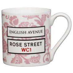 English Avenue mug