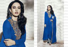 Dress Ethnic Pakistani Designer Salwar Kameez Bollywood Suit Indian Anarkali…