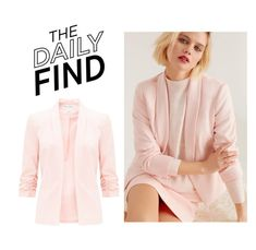 """""""Daily Find: Miss Selfridge Blazer"""" by polyvore-editorial ❤ liked on Polyvore featuring DailyFind"""