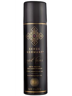 Top splurges: When you want polished hair with minimal effort, shine-spray-meets-fine-floral-fragrance Serge Normant Meta Revive Dry Conditioner does the trick