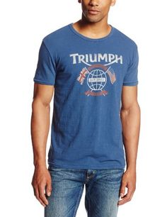 Lucky Brand Men's Triumph Worlds Fastest Graphic Tee. Short sleeve tee with triumph printed graphic Front graphic placement Scoop neckline Product Features  Scoop neckline   http://geek-tshirts.com/lucky-brand-mens-triumph-worlds-fastest-graphic-tee/