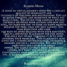 What is a scorpios moon sign