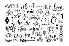 Catchwords and Ampersands by Redchocolate Illustration Hand Lettering Alphabet, Doodle Lettering, Graffiti Lettering, Lettering Design, Calligraphy Alphabet, Doodle Fonts, Graffiti Alphabet, Islamic Calligraphy, Bullet Journal Art