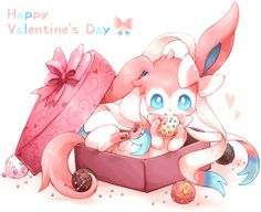 Awwwwwweeeeeee <3 :3 x3 that would be the best gift ever I would love an Eevee or a sylveon