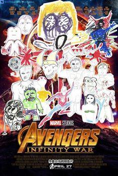 #InfinityWar. Artwork by Kuma Wind (twitter.com/... )