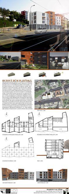 Studentský projekt. LS 2013/2014. FSv ČVUT v Praze. Praha, Floor Plans, Architecture, Model, Arquitetura, Scale Model, Architecture Design, Models