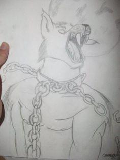 Wolf  Dessiné par Lucie.T https://lestestsdelapetiteluciole.wordpress.com/