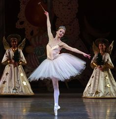 "Sterling Hyltin as the Sugarplum Fairy in New York City Ballet's production of ""The Nutcracker."""