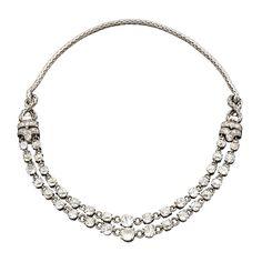 BOUCHERON 1940's  Diamond Necklace