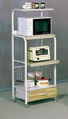 """Kitchen Serving Utility Cart Stand w/4 Tiers Storage Area & Drawer by Coaster Home Furnishings. $85.42. 24"""" X 17"""" x 61""""H. Dining and Kitchen->Serving Carts. Some assembly may be required. Please see product details.. Dining and Kitchen. Kitchen Serving Utility Cart Stand w/4 Tiers Storage Area & Drawer This is a brand new traditional kitchen utility cart stand on casters with 4 tiers of shelving space. The bottom has a storage drawer covered in checkered wood ..."""