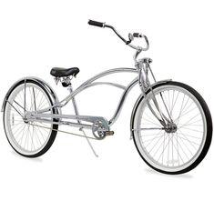 CUSTOM CRUISER Bike Handlebar Grips checker Black//Chrome Skull LOWRIDER CRUISER