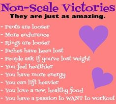 Can I get some LOVE for the non-scale victories??? Whoo hoo!!!  http://ltl.is/9syFV