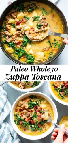 Whole 30 Soup, Paleo Whole 30, Whole 30 Recipes, Clean Eating Recipes, Healthy Eating, Cooking Recipes, Healthy Recipes, Healthy Food, Clean Eating Soup