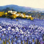 Provence, Luberon Lavender Fields Art Print by Alan Cotton - WorldGallery.co.uk