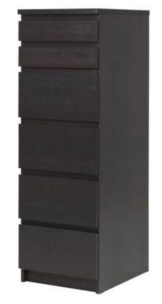 Malm Skinny Dresser - IKEA for my closet