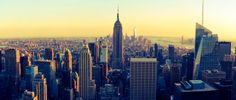 View of the Empire State Building, Manhattan, New York City