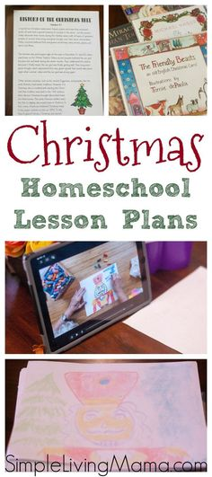 These Christmas homeschool lesson plans are perfect for your elementary age children. Bring the wonder of Christmas into your homeschool. Advent Activities, Christmas Activities, Scripture Memorization, Kindergarten Lesson Plans, Christmas Planning, Home Schooling, Fun Math, Homeschool, Curriculum