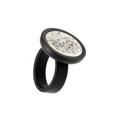 Fingerring Keramik 310-10-SW h kollektion Schmuck
