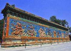 Nine Dragon Wall in Beijing, China #DestinationChina