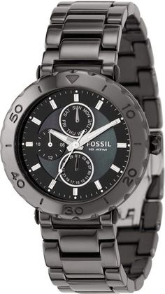 Fossil Watch , Fossil Women's CE1001 Black Ceramic Bracelet Black Analog Dial Multifunction Watch, Disclosure: Affiliate Link...$179.99