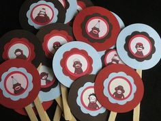 Oh My Gluestick: Sock Monkey Party From Favor Bags to Smash Cake Toppers
