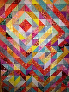 psychedelic half square triangle top | Flickr - Photo Sharing!