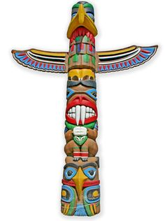 totem - photo/picture definition at Photo Dictionary - totem word and phrase defined by its image in jpg/jpeg in English Photo Dictionary, Lago Baikal, Forest Animals, North West, Stock Photos, Artwork, English, Native Americans, School Stuff