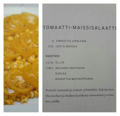 Tomaatti-maissisalaatti
