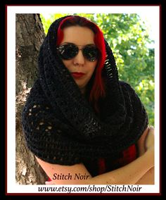 Skull Cowl: a wrap, a scarf, a hood...when you need a bit of extra warm!  https://www.etsy.com/ca/listing/199893464/skull-cowl-wrap-a-scarf-a-hoodwhen-you