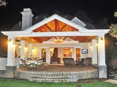 Patio Pergola, Backyard Patio Designs, Patio Roof, Back Patio, Pergola Plans, Patio Ideas, Pergola Kits, Pergola Ideas, Porch Ideas