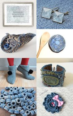 Denim Blue by UnlimitedCraftworks on Etsy--Pinned with TreasuryPin.com